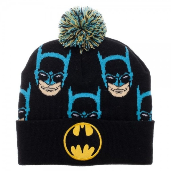 299753ae4fc Batman Beanie Hat DC Comics JLA Justice League